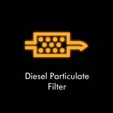 Why is my diesel particulate filter light on?